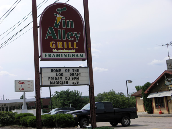 This Is Framingham » Blog Archive » $#@% list: Tin Alley Grill